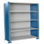 Hallowell H-Post Closed Shelving Unit - 5 Shelf Starter
