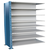 Hallowell H-Post Closed Shelving - 8 Shelf Adder