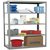"DuraTech Pass-Thru Steel Shelving 5 Shelf 36""W x 87""H"